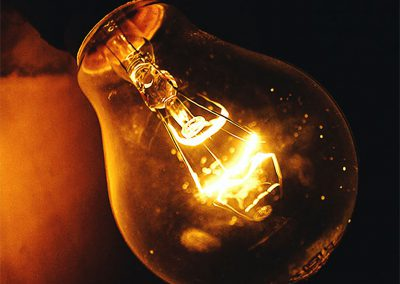 Canva - Close-up Photography of Lighted Light Bulb